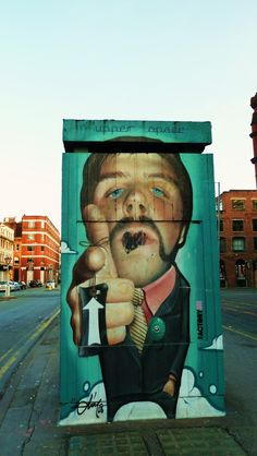 Street Art in Manchester, England