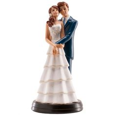 Muñecos clásicos y con mucho estilo para la tarta de boda