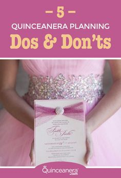 Your Quinceanera celebration should be exactly what you dreamed of your whole life! However, times have changed and you have to be prepared to alter your plan a little. Luckily these changes can make your Quinceanera planning much more convenient and less stressful.  - See more at: http://www.quinceanera.com/planning/5-quinceanera-planning-dos-donts-digital-era/#sthash.N5VTgXdJ.dpuf