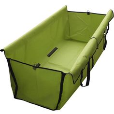 Pupyin Waterproof and Convertible Hammock Pet Seat Cover for Cars and SUV with Seat Anchors, Nonslip, Extra Side Flaps, Machine Washable Barrier Dog Seat Cover (Green-1) *** Continue to the product at the image link.