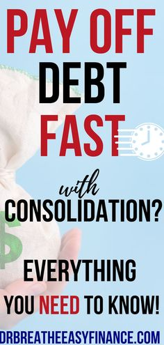 Do you want to be debt-free? Is debt consolidation RIGHT for you? We break everything down in this post with Ryan from Arrest your Debt!  If you have many different debts with different interest rates, payoff schedules, and balances, it may sound like a good idea to sign up for debt consolidation. BUT WAIT! Don't fall for any gimmicks! BEFORE you sign...read this! #debtfree #debtpayoff #financialliteracy Debt Repayment, Loan Consolidation, Debt Payoff, Debt Free Living, Debt Snowball, Student Loan Debt, Thing 1, Get Out Of Debt, Financial Literacy