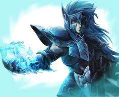Aquarius no Camus - Saint Seiya Art Anime, Manga Anime, Anime Saint, Knights Of The Zodiac, Comics Anime, Arte Nerd, Dragon Knight, Animation, Deviant Art