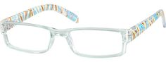 Order online, women blue full rim acetate/plastic rectangle eyeglass frames model #271516. Visit Zenni Optical today to browse our collection of glasses and sunglasses.