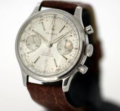 Currently at the #Catawiki auctions: Farexy Vintage Swiss Made Chronograph -  Men's Wristwatch