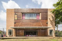 Cultural Warehouse for the Plínio Marcos School of Art and Culture,© Joana França