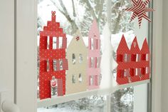 DIY Dezember acufactum Papierhaeuser Fenster