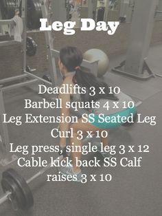 Little b's healthy habits- Leg workout!