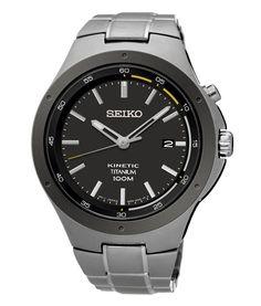 Seiko kinetic - kwaliteit en stijl in 1 horloge. www.ajuweliers.nl