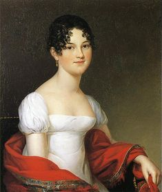 James Peale (1749-1831). Anna Sophia Alexander Robertson (Mrs. William Heberton) 1816    At the outset of his career, when he was working closely with his brother Charles Willson Peale, James Peale learned to paint both portraits & still-lifes, while he was making frames for his brother's works.