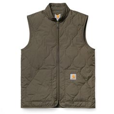 Carhartt WIP Camp Liner Vest http://shop.carhartt-wip.com:80/se/men/jackets/I018001/camp-liner-vest