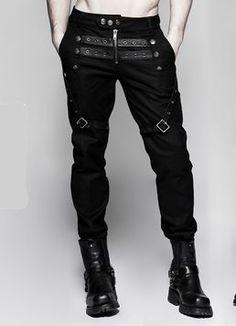 Pantalon gothique PUNK RAVE