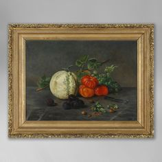A Late 19th Century Still Life of Fruit - Timothy Langston