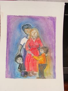 archetype family water colour pencil