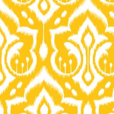 Ikat Damask  Spoonflower