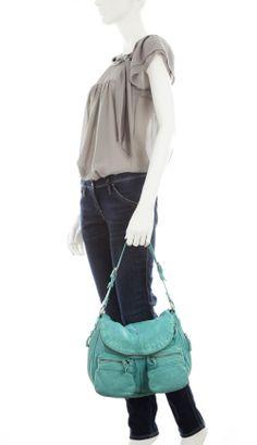 Cowboysbag wooler schultertasche leder mintgruen 30 cm for Designer tische outlet