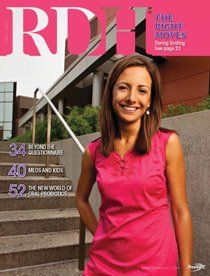 My best friend on the cover of a magazine! Go Trish!  a magazine just for our profession, we are so lucky! -td
