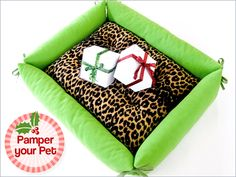 Comfy Pet Bed with Bolster Sides
