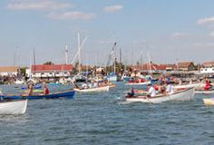 Row4AReason 2009, a charity rowing race at #HeybridgeBasin #Maldon