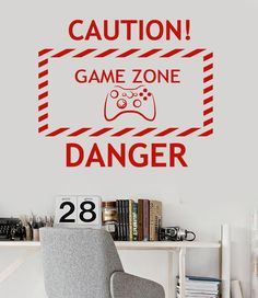 new home Vinyl Wall Decal Game Zone Video Game Teen Room Gaming Stickers free shipping //Price: $11.54 & FREE Shipping //  #gamergirl #gaming #video #videogame #gamingmouse