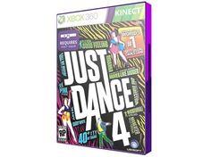 Just Dance 4 para Xbox 360 com as melhores condições você encontra no site  do Magazine 91678658b7653