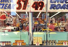 """Food City Supermarket New York City"", 1960"