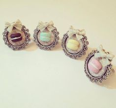 Macaron rings. funnyfimo.altervista.org