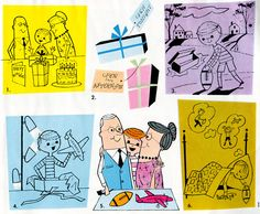 newhousebooks:    More illustrations from Basic Spelling Goals (Grade 3) 1960. (6 of 6)