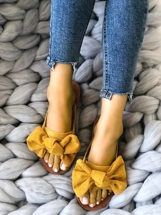 Shop Casual Bowknot Toe Post Flat Sandals right now, get great deals at Joyshoetique.