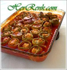 Tavuklu Kabak Rulosu-İftara,misafir için ne yapsam,davet yemekleri,kabak yemekleri,patlıcan yemekleri,fırında etli sebze yemekleri,fırın yemekleri,kabak,patlıcan,ramazan yemek tarifleri,ramazan,iftar,