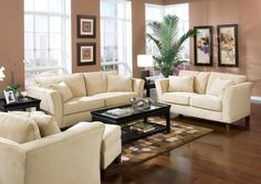 Better Home Living Room Decorating Ideas Sunroom With Likable Dark Salmon Color Schemes Wall Paint And Fashionable Ivory Fabric Sleeper Sofa Using Shelter ...