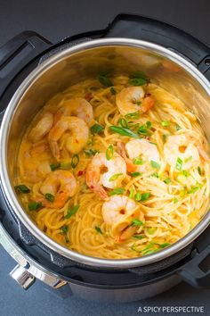 Perfect Instant Pot Bang Bang Shrimp Pasta Recipe