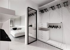 Single Family House Interior Design, Warsaw By Tamizo Architects_closet