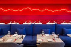 Ресторан от Rolf Sachs как отражение швейцарского ландшафта