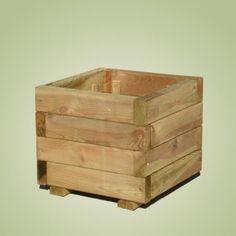 donica 30x30 drewniana kwadratowa promocja