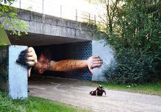 Street Art Masterpiece by Cheone