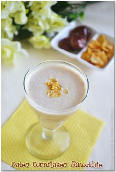 Healthy drink made out of Dates & Cornflakes!