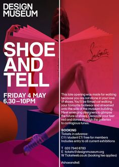 Shoe and Tell @ Design Museum