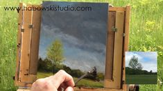 """Plein Air Landscape Oil Demo - """"Approaching Storm"""" - YouTube"""