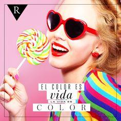 ¡El color es vida! #pasionporlamoda