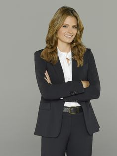 After all these years of angst, Kate Beckett finally looks happy on Castle season Castle Tv Series, Castle Tv Shows, Castle Abc, Stana Katic, Castle Season 8, Richard Castle, Abc Tv Shows, Castle Beckett, Comedy Tv