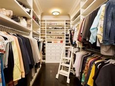 With the walk-in closet, your personal belongings become more organized, easily found and seem to have a personal boutique feel.