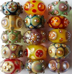 Baroque beads by Glass-i Studio, via Flickr
