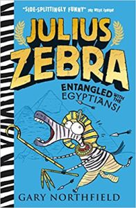 Julius Zebra Entangled with the Egyptians book cover