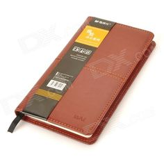 Brand: ChenGuang; Model: APY4H361; Quantity: 1 piece(s) per pack; Color: Red brown; Material: Leather + paper; Paper Qty.: 100; Other Features: High quality, good for office use; Packing List: 1 x Notebook; http://j.mp/1tpd6EZ
