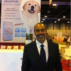 Foto de Benito en la Exposición Internacional Canina 100x100 Mascota durante los días 25 y 26 de mayo de 2013 en Madrid