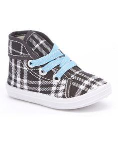 Blue Plaid Sneaker