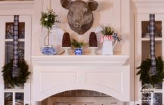 StoneGable's farmhouse kitchen is finally dressed up for Christmas. This year, as in years past, I'm using lots of naturals with fun Christmas touches! Come on in… have a mug of hot chocolate and let's look around… My farmhouse kitchen is part of… Make sure you see the bottom of the post for a list …