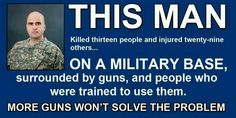 Some people say even more people need to be armed to protect themselves. But more guns won't solve the problem.