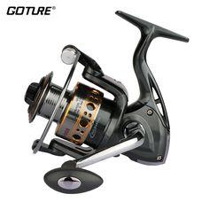Goture Gapless Spinning Reel 13BB Aluminum Spool Fishing Reel 1000 - 7000 Rock Wheel