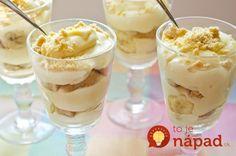 Ľahký tvarohovo-jogurtový dezert